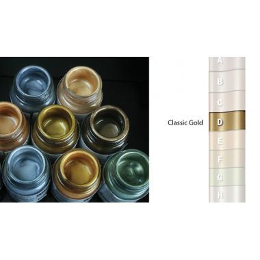 """Ваксы """"Liquid Metal"""" Classic Gold, 250мл"""