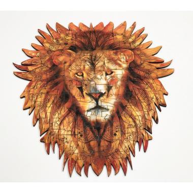 Деревянный пазл Великолепный Лев
