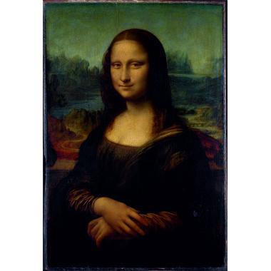 Деревянный пазл Мона Лиза