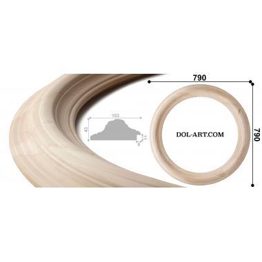 Круглая рама 1034370 диаметр 60 без отделки